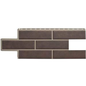 Альта Профиль фасадные панели Венецианский камень коричневый