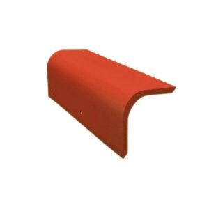 Боковая цементно-песчаная черепица Braas красный