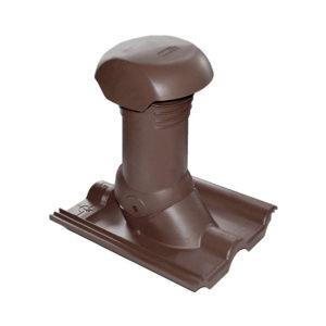 Комплект для прохода вентиляционных стояков Braas коричневый