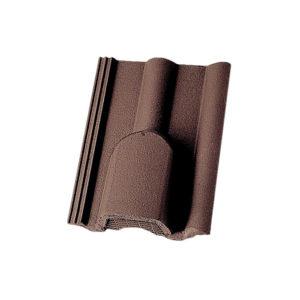Вентиляционная черепица Braas темно-коричневый