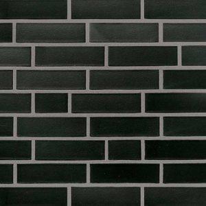 Roben клинкерная плитка Faro schwarz-nuanciert, гладкая
