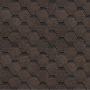 Технониколь Шинглас коллекция Финская соната коричневый