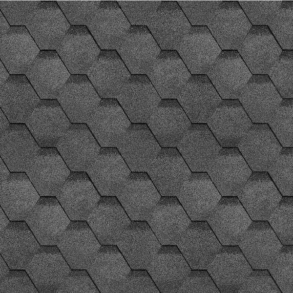 Технониколь Шинглас коллекция Финская соната серый
