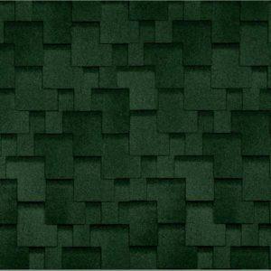 Технониколь Шинглас коллекция Финская аккорд зеленый