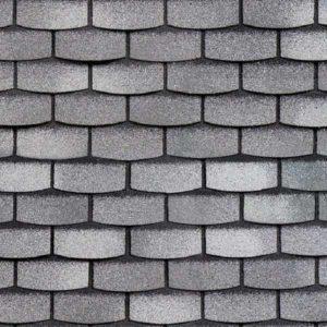 Технониколь Шинглас фасадная плитка Hauberk камень сланец
