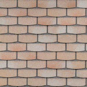 Технониколь Шинглас фасадная плитка Hauberk камень травертин