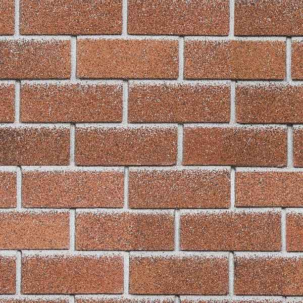 Технониколь Шинглас фасадная плитка Hauberk кирпич красный