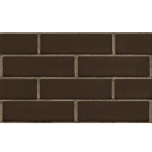 Кирпич керамический лицевой ЛСР Темно-коричневый гладкий