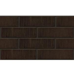 Кирпич керамический лицевой ЛСР Темно-коричневый тростник