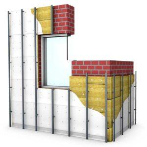 Подконструкция вентилируемого фасада
