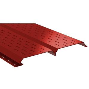 Lбрус металлический софит красный 3011