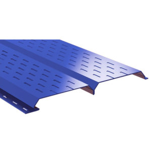 Lбрус металлический софит синий 5005