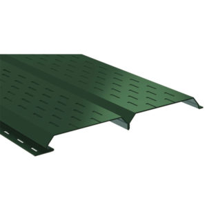 Lбрус металлический софит зеленый 6005