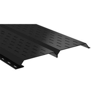 Lбрус металлический софит черный 9005