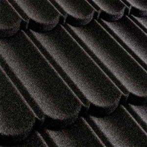 Metrotile композитная черепица коллекция MetroBond черный