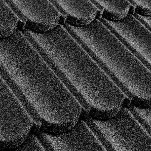 Metrotile композитная черепица коллекция MetroBond серый