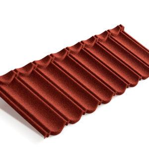 Metrotile композитная черепица коллекция MetroBond красный