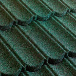 Metrotile композитная черепица коллекция MetroBond зеленый