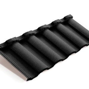 Metrotile композитная черепица коллекция MetroRoman черный