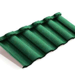 Metrotile композитная черепица коллекция MetroRoman зеленый