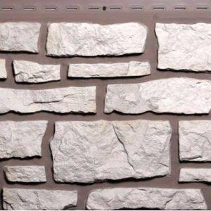 Nailite фасадные панели Creek Ledgestone винтажный белый