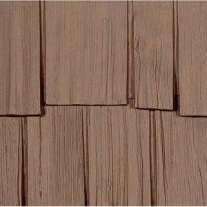 Nailite фасадные панели Hand-Split Shake природный кедр