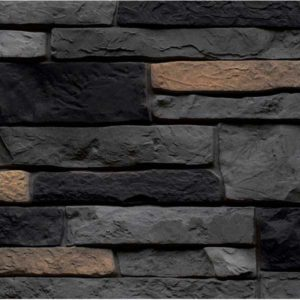Nailite фасадные панели Stacked Stone Premium антрацит