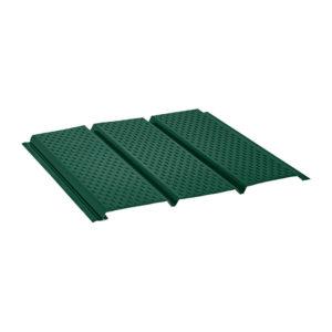 Aquasystem металлический софит с полной перфорацией Pural светло-зеленый 11