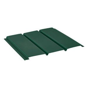 Aquasystem металлический софит без перфорации Pural зеленый 11