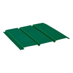 Aquasystem металлический софит без перфорации Pural зеленый 6005