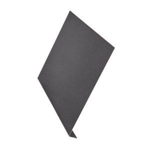 L-профиль металлический 2 метра Aquasystem Pural Matt серый 23