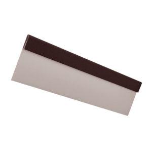 Финишная планка металлическая 2 метра Aquasystem Pural Matt темно-коричневый 32
