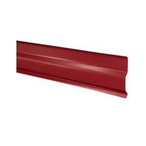Планка примыкания для битумной черепицы красный