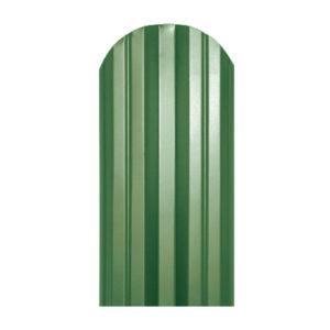 Металлический штакетник М-образный 113 мм зеленый