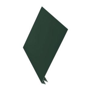 J-фаска металлическая 2 метра Aquasystem Pural светло-зеленый 11