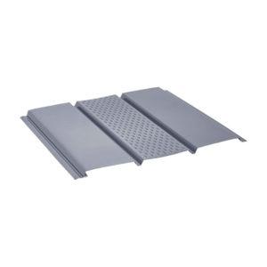 Aquasystem металлический софит Pe серый 23