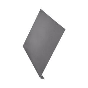 L-профиль металлический 2 метра Aquasystem Pe серый 23