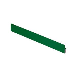 G-планка металлическая 2 метра Aquasystem Pural зеленый 6005