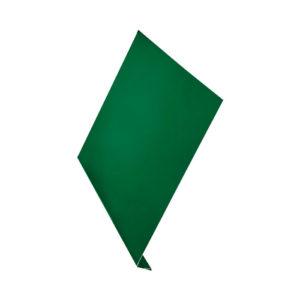 L-профиль металлический 2 метра Aquasystem Pural зеленый 6005