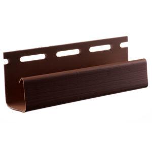 J-профиль узкий Альта Профиль Блок Хаус коричневый