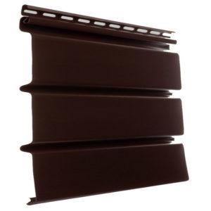 Docke пластиковый софит сплошной шоколад