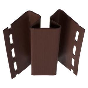 Угол внутренний Альта Профиль Блок Хаус коричневый