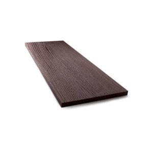 Торцевая рейка для террасной доски коричневый