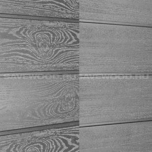 Фасадная доска ДПК Savewood Sorbus пепельный