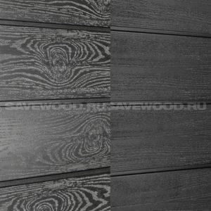 Фасадная доска ДПК Savewood Sorbus черный
