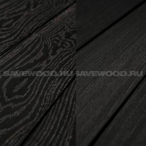 Террасная доска двухсторонняя Savewood Fagus черный
