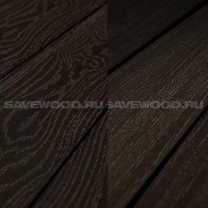 Террасная доска двухсторонняя Savewood Fagus коричневый