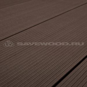 Террасная доска Savewood Salix коричневый