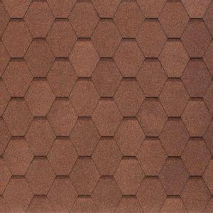 Tegola Nobil Tile коллекция Вест коричневый
