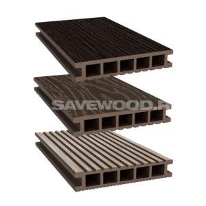 Savewood террасная доска Ornus коричневый